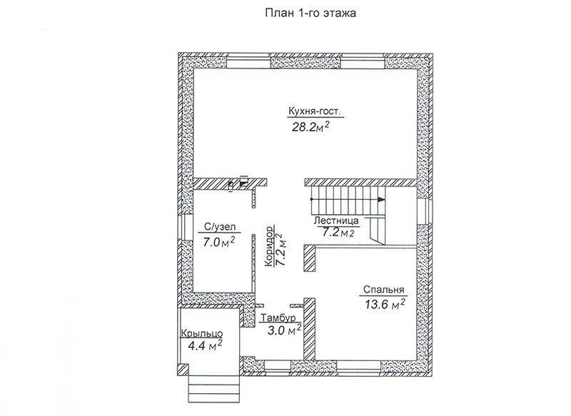 ПОЛЯНЫ, 125М2
