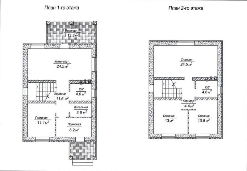 Поляны, ул. Советская, 120 м2